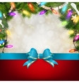 Christmas background with fir twigs eps 10 vector