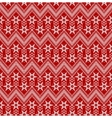 Seamless christmas red background vector