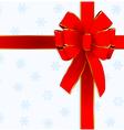Christmas bow design vector