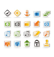 Programming and computer icon vector