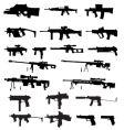 Guns vector