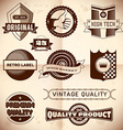 Vintage labels collection 23 vector