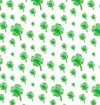 Green plant pattern vector