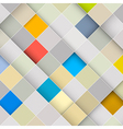 Abstract square retro background vector