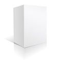 White big box vector