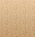 Seamless floral damask wallpaper vector