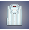 Mens classic shirt vector