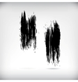 Strokes of a paint brush vector
