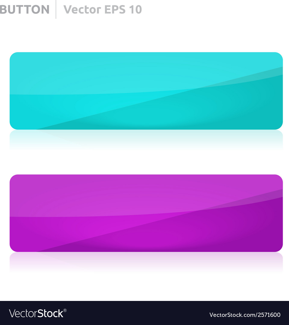 Button template web blue and purple vector | Price: 1 Credit (USD $1)
