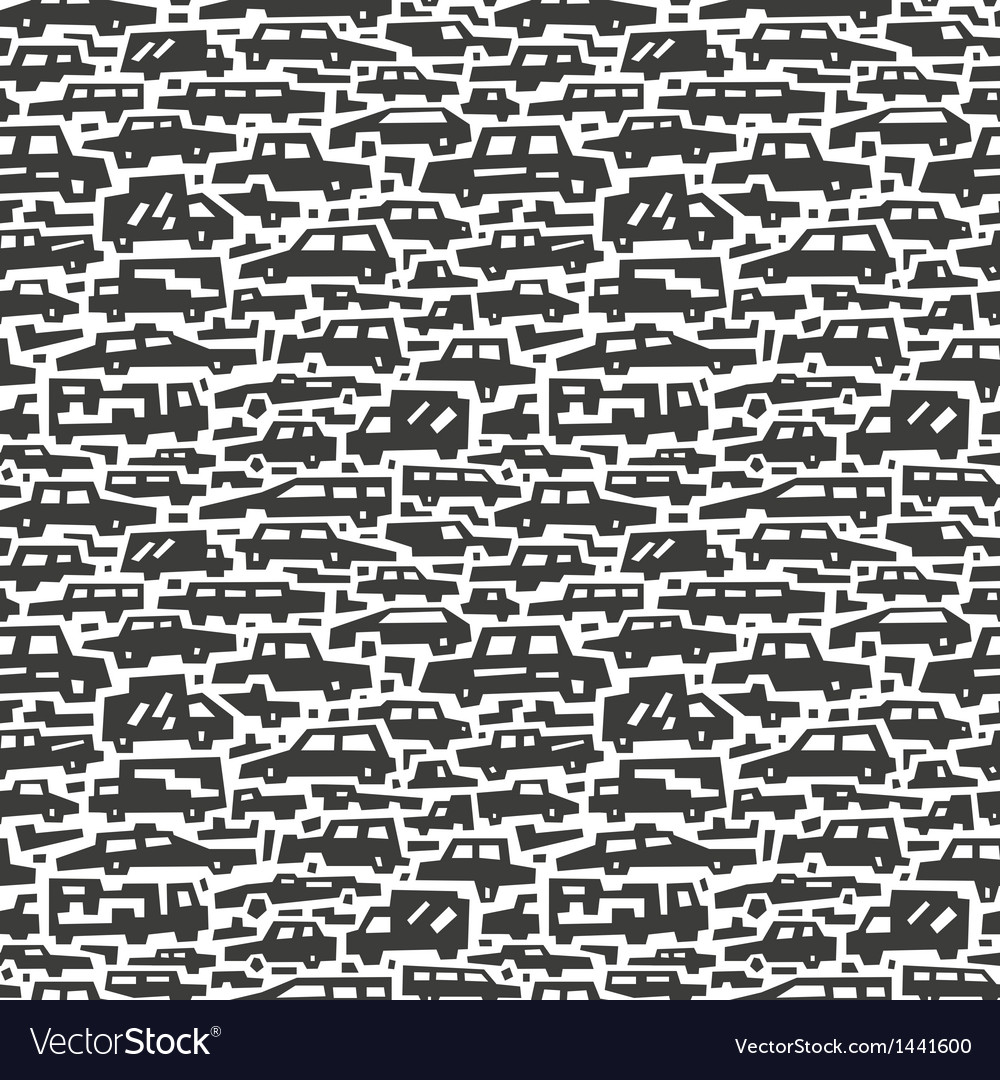Cars motion - seamless background vector | Price: 1 Credit (USD $1)