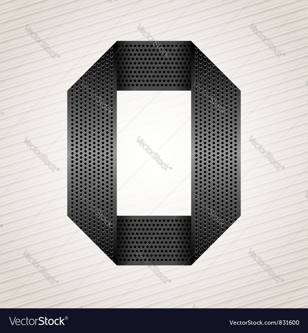 Number metal ribbon - 0 - zero vector   Price: 1 Credit (USD $1)