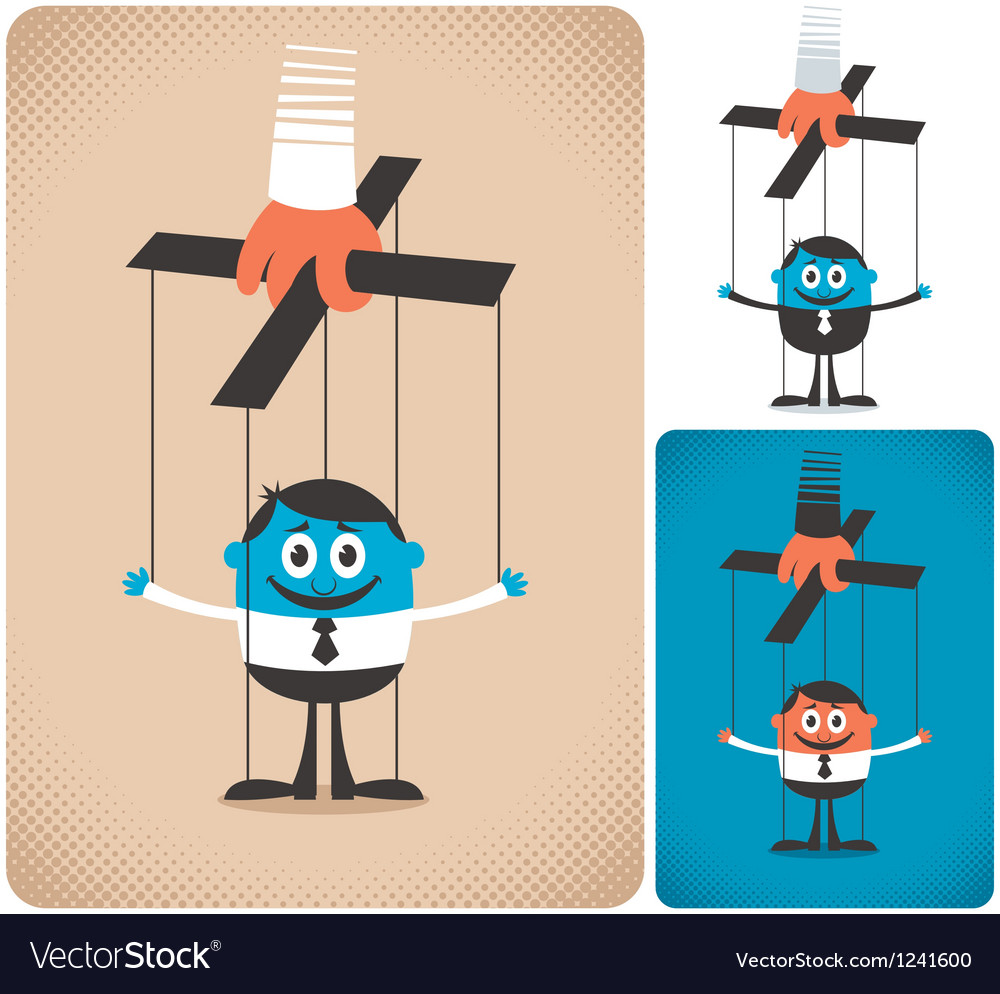 Puppet vector | Price: 1 Credit (USD $1)
