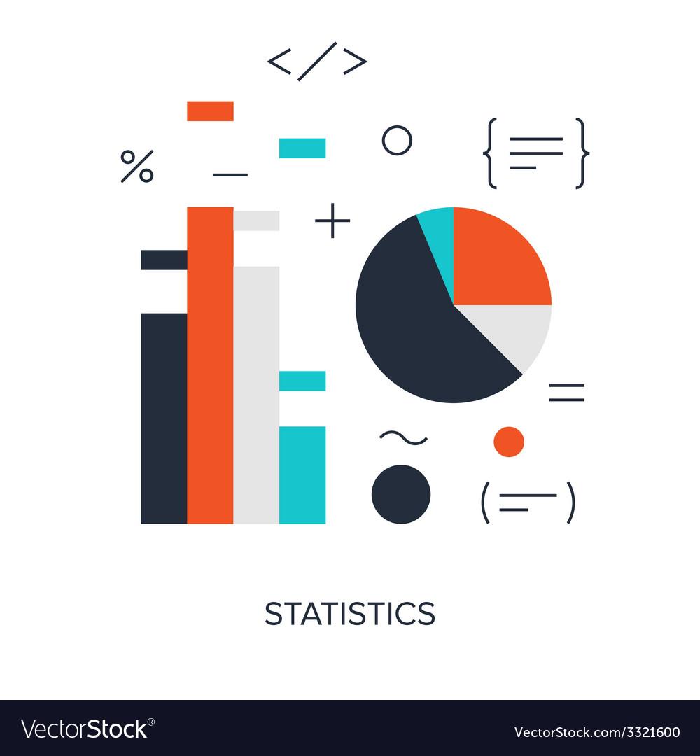 Statistics vector | Price: 1 Credit (USD $1)