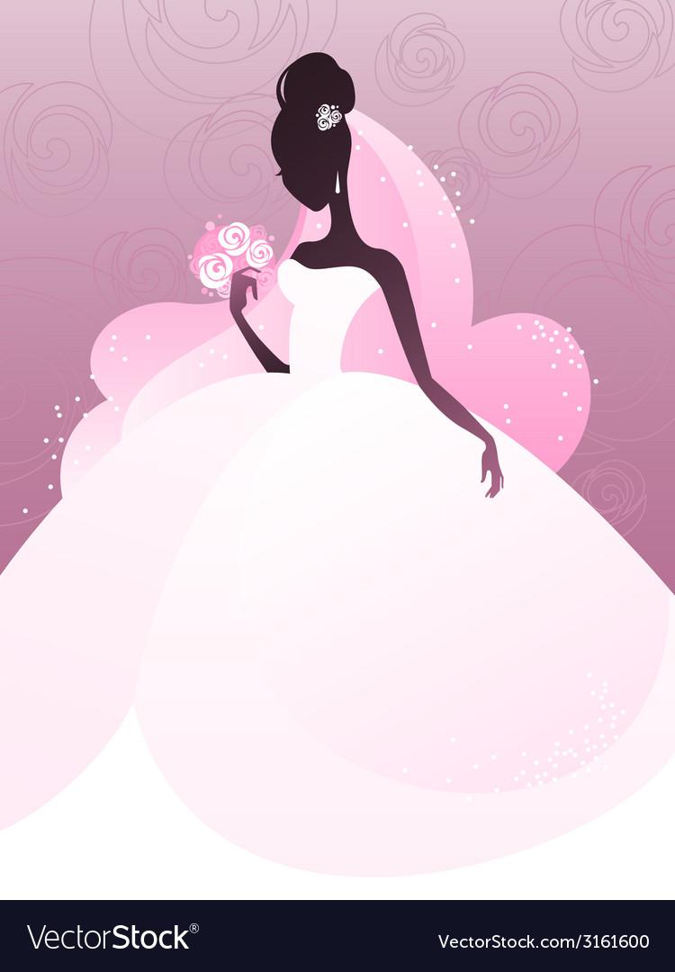 Young bride vector | Price: 1 Credit (USD $1)
