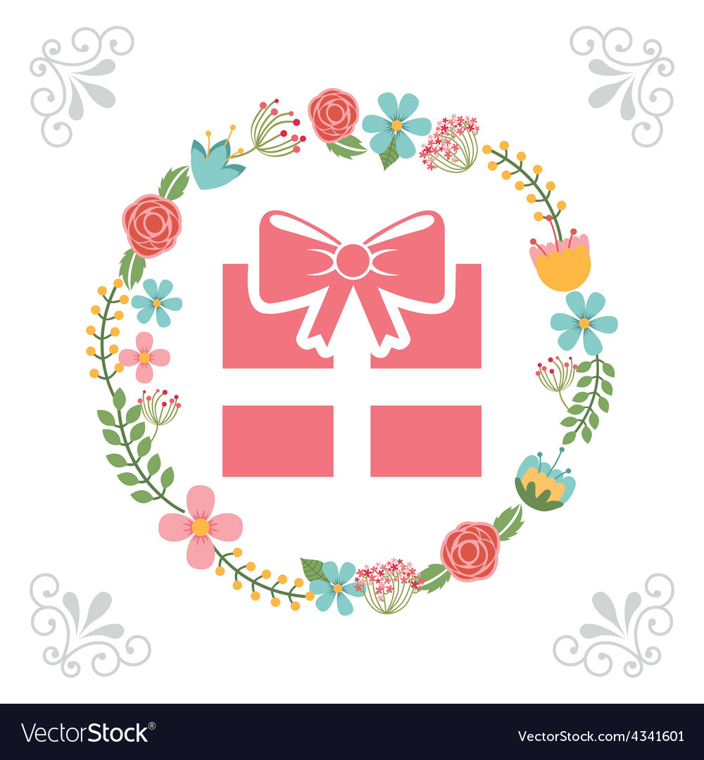 Beauty gift vector | Price: 1 Credit (USD $1)