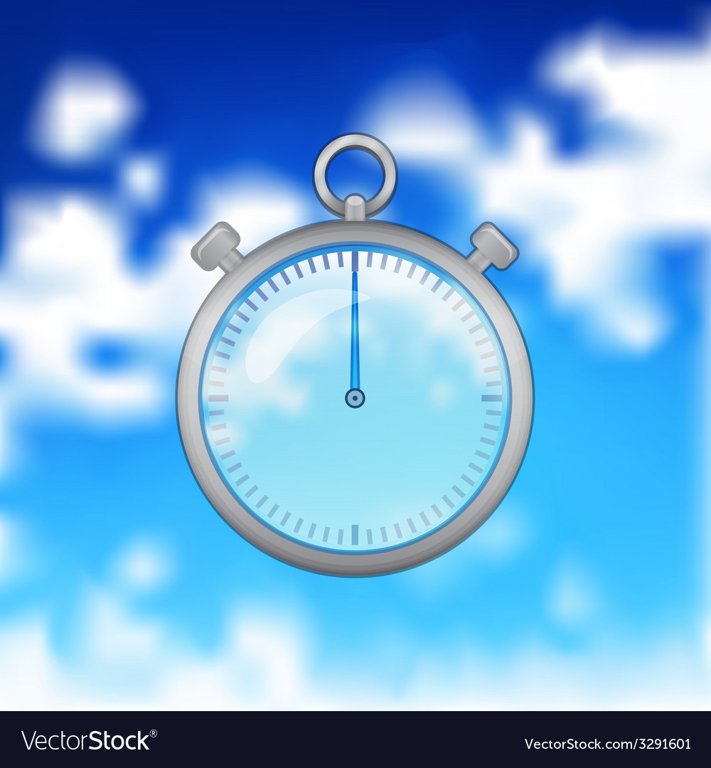 Realistic timer vector | Price: 1 Credit (USD $1)