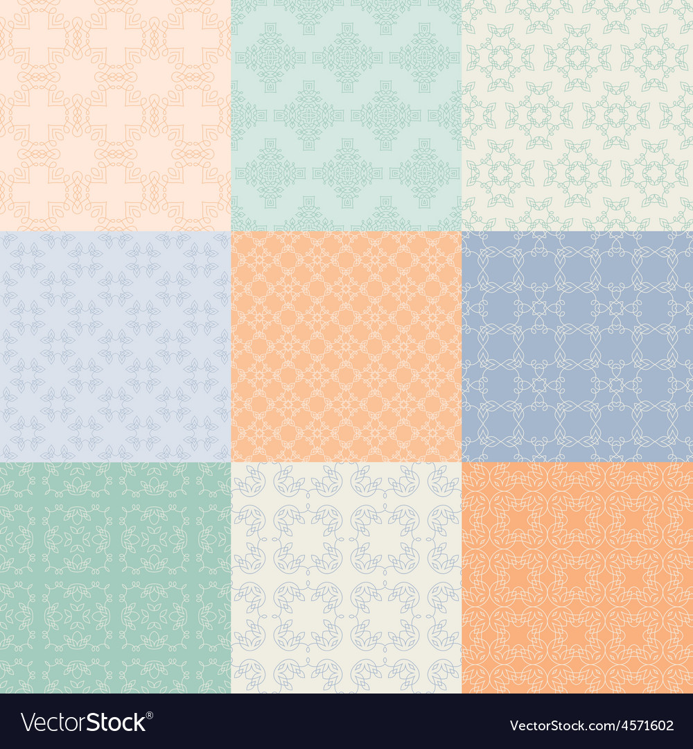 Graphical pattern collection vector | Price: 1 Credit (USD $1)
