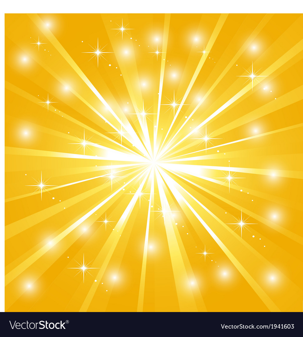 Bright sunburst with sparkles vector | Price: 1 Credit (USD $1)