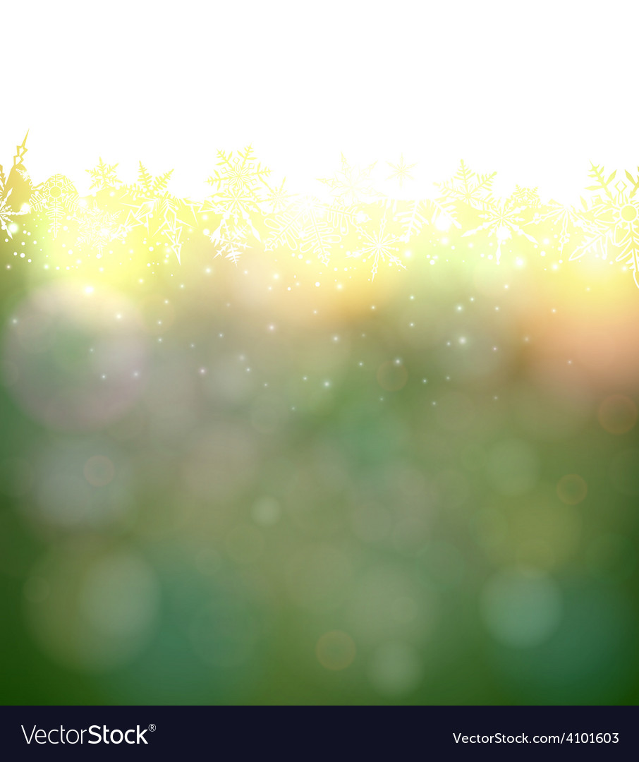 Vibrant green christmas background vector   Price: 1 Credit (USD $1)