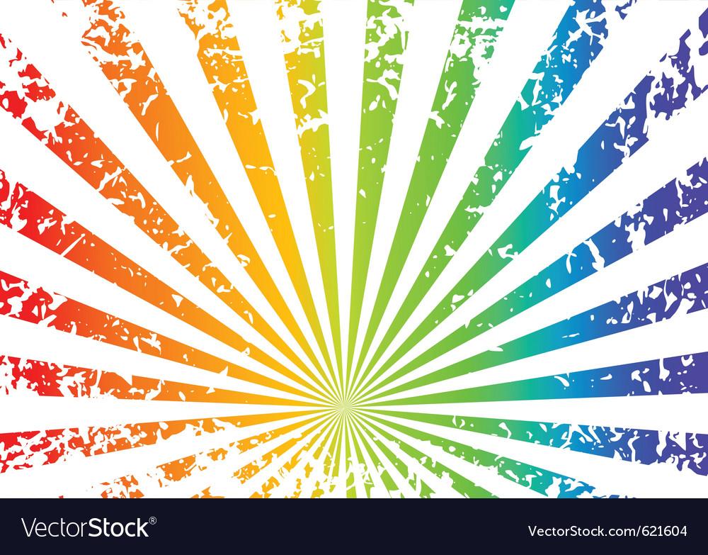 Grunge sunrise background vector   Price: 1 Credit (USD $1)