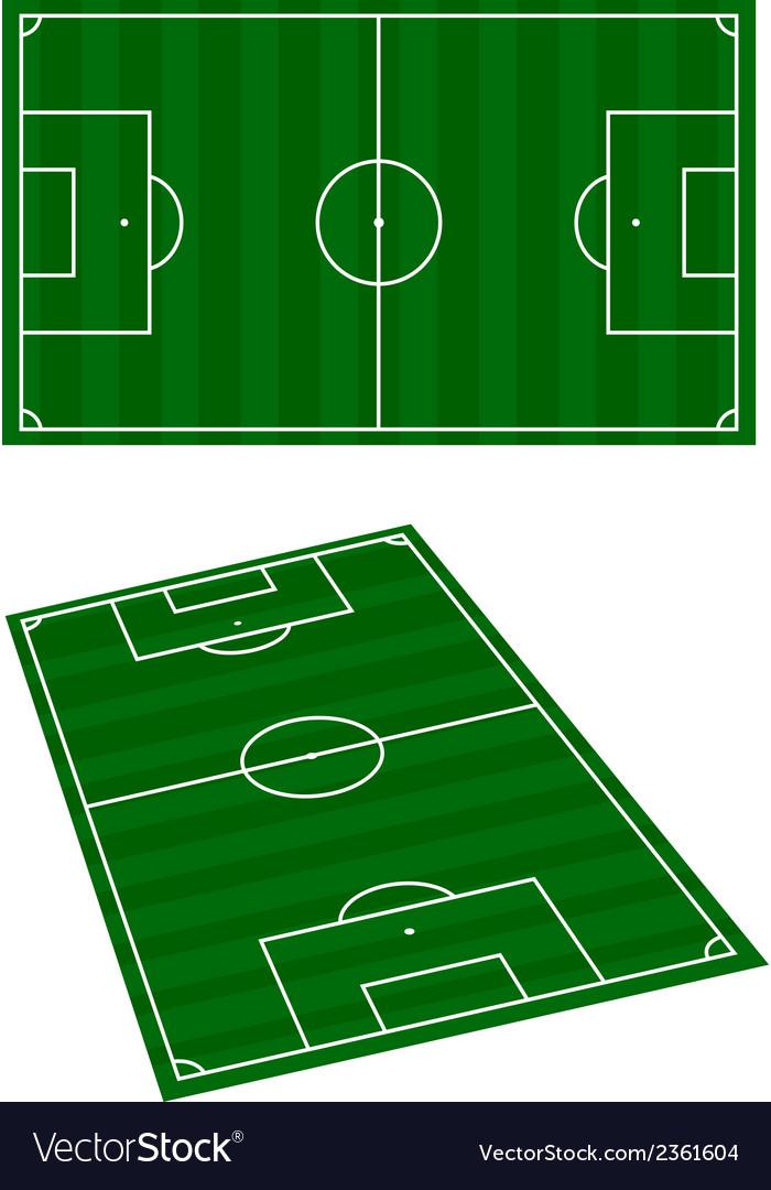 Soccer terrain vector | Price: 1 Credit (USD $1)