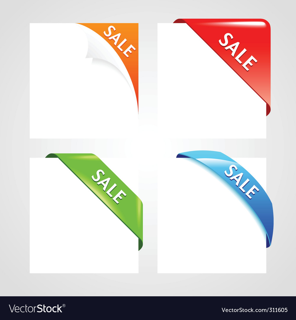 Corner collection vector | Price: 1 Credit (USD $1)