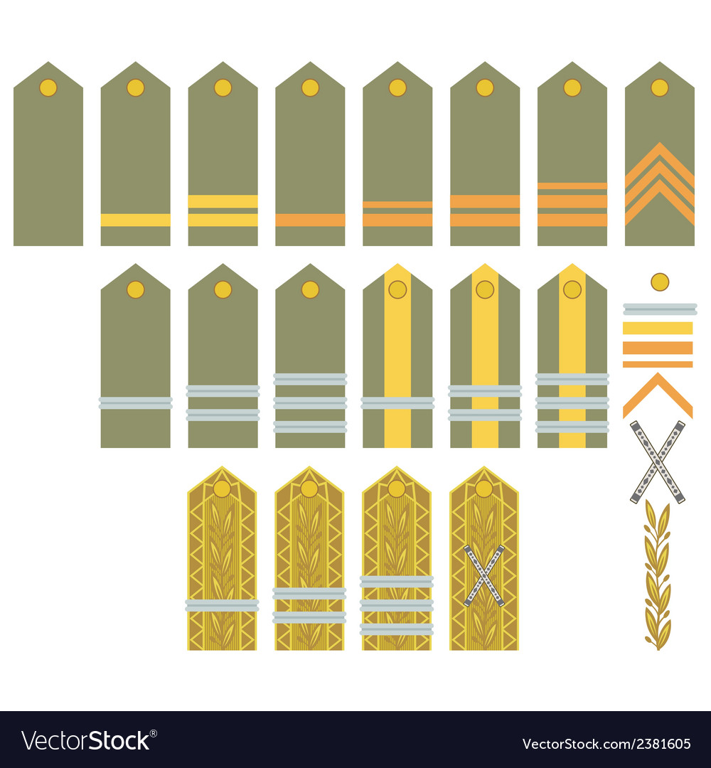 Insignia of the romanian army vector | Price: 1 Credit (USD $1)