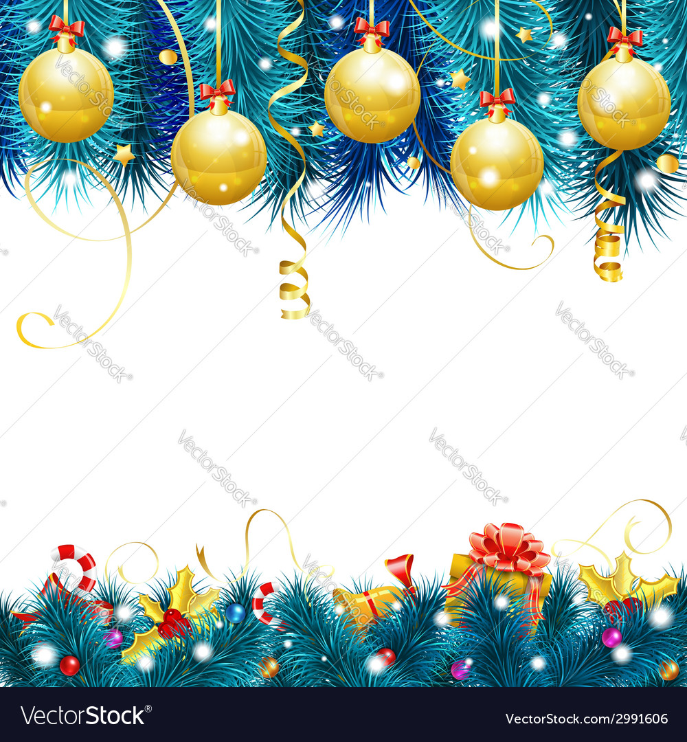 Christmas frame vector | Price: 1 Credit (USD $1)