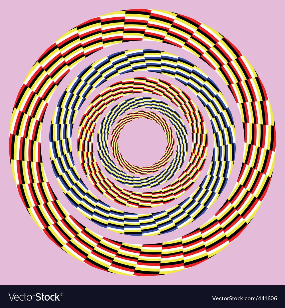 Optical illusion vector | Price: 1 Credit (USD $1)
