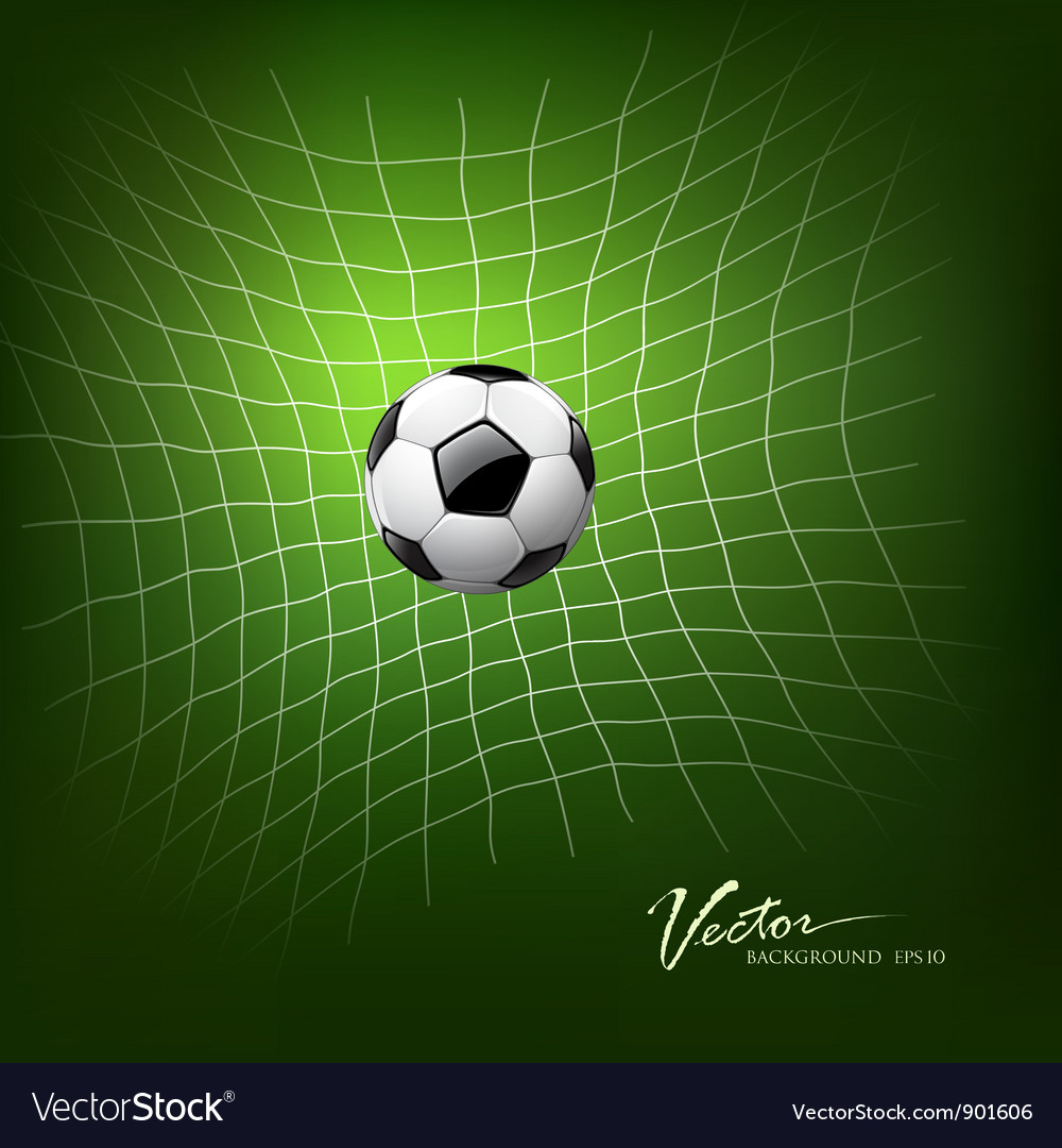 Soccer goal vector | Price: 3 Credit (USD $3)