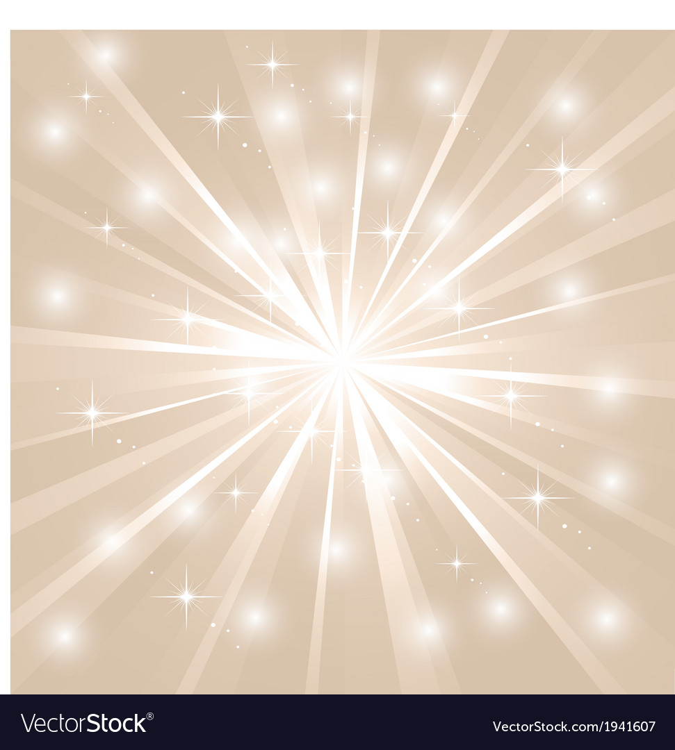 Bright sunburst with sparkles vector | Price: 1 Credit (USD $1)
