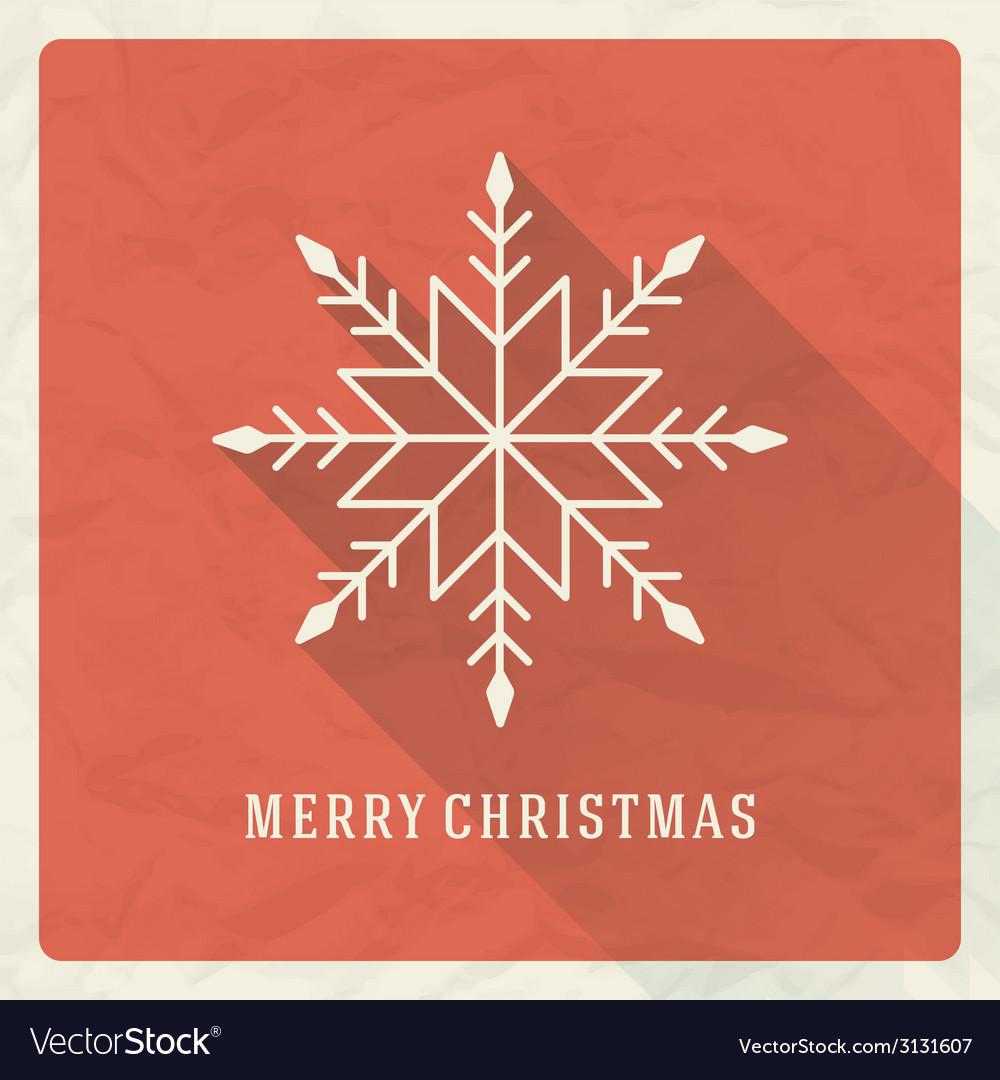 Christmas retro typographic and ornament vector | Price: 1 Credit (USD $1)