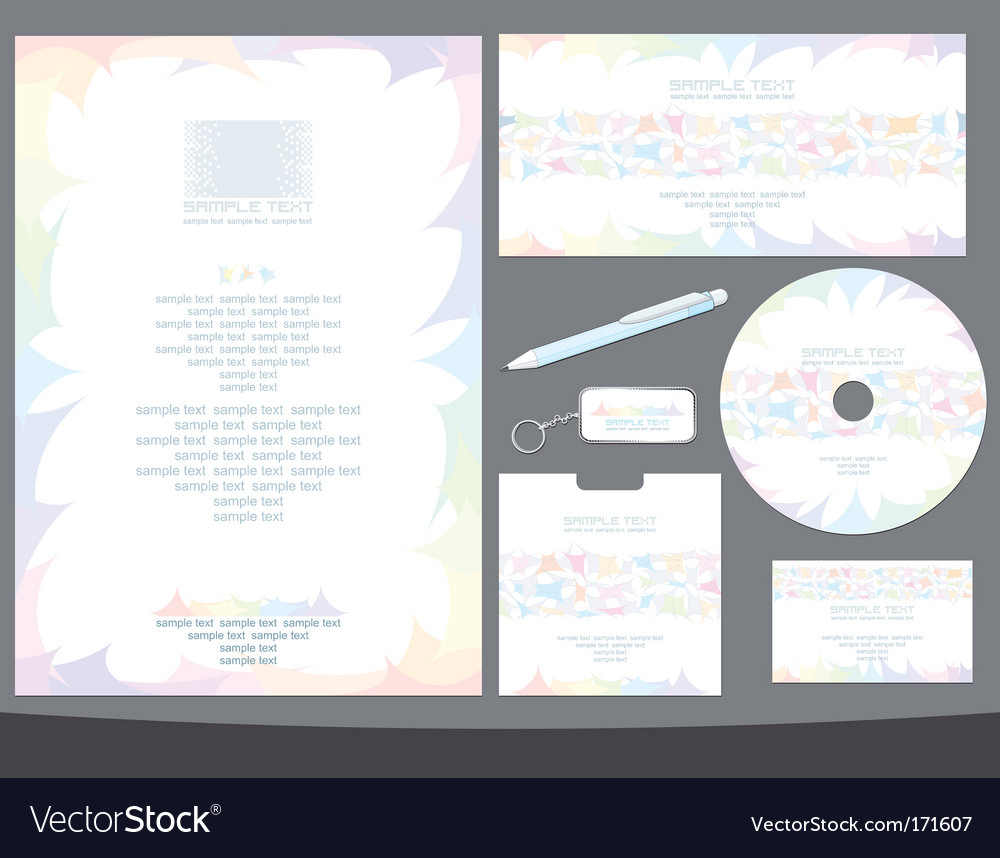 Office papers vector | Price: 1 Credit (USD $1)