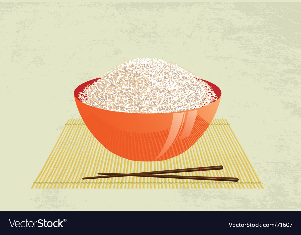 Rice vector | Price: 3 Credit (USD $3)