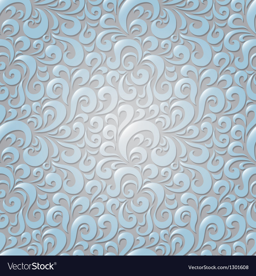 Abstract seamless floral pattern vector   Price: 1 Credit (USD $1)