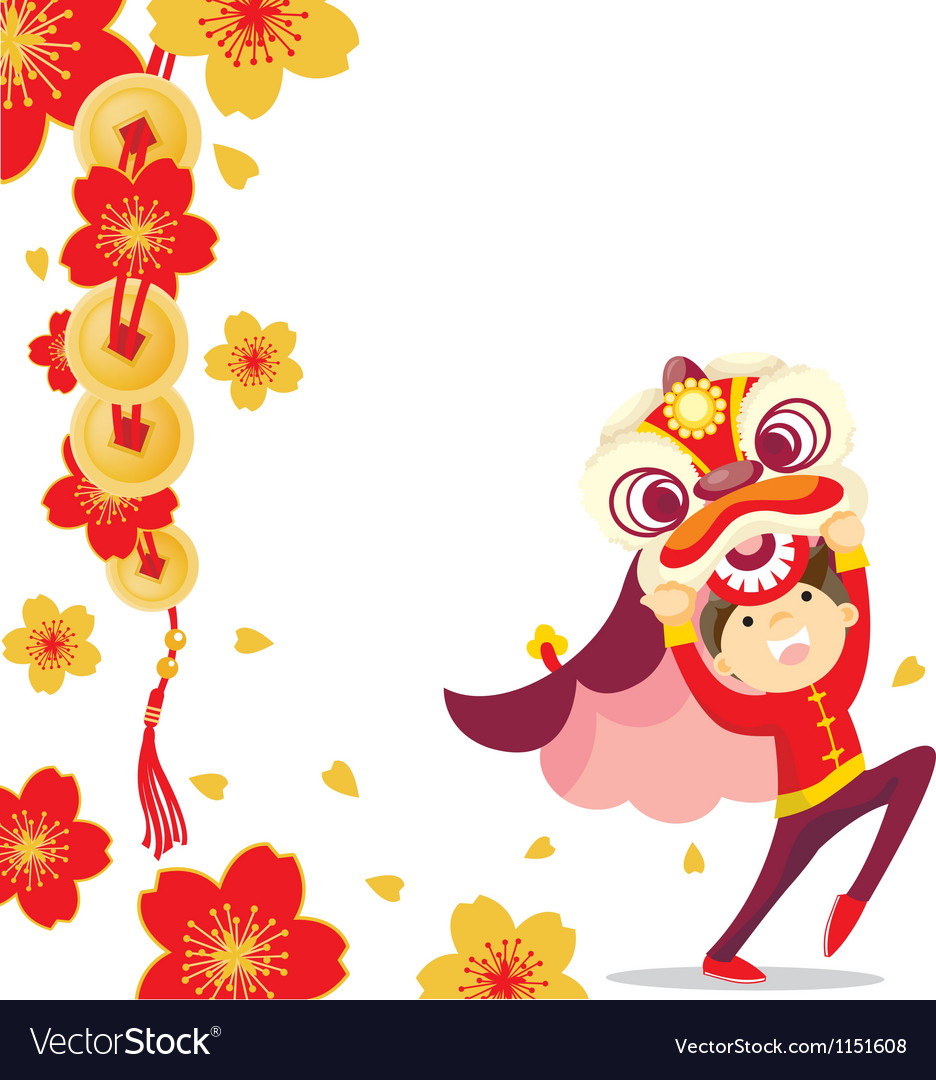 Chinese new year celebration vector | Price: 1 Credit (USD $1)