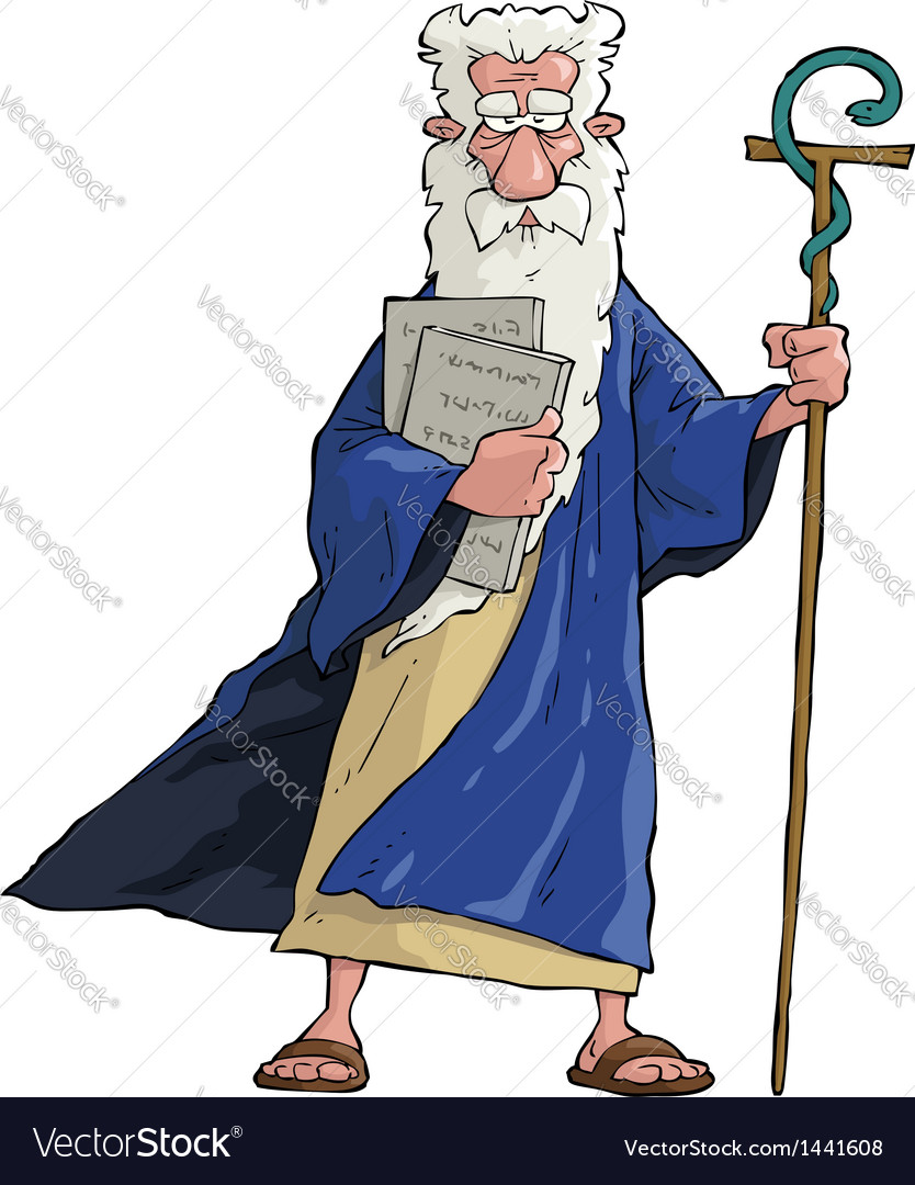 Moses vector | Price: 1 Credit (USD $1)