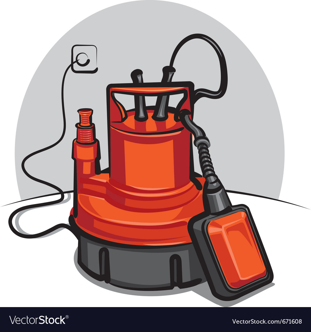 Water pump appliance vector | Price: 3 Credit (USD $3)
