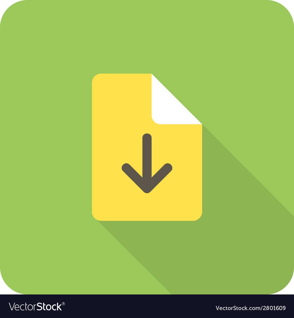 File download vector | Price: 1 Credit (USD $1)
