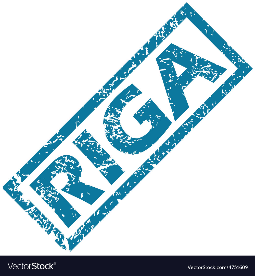 Riga rubber stamp vector | Price: 1 Credit (USD $1)