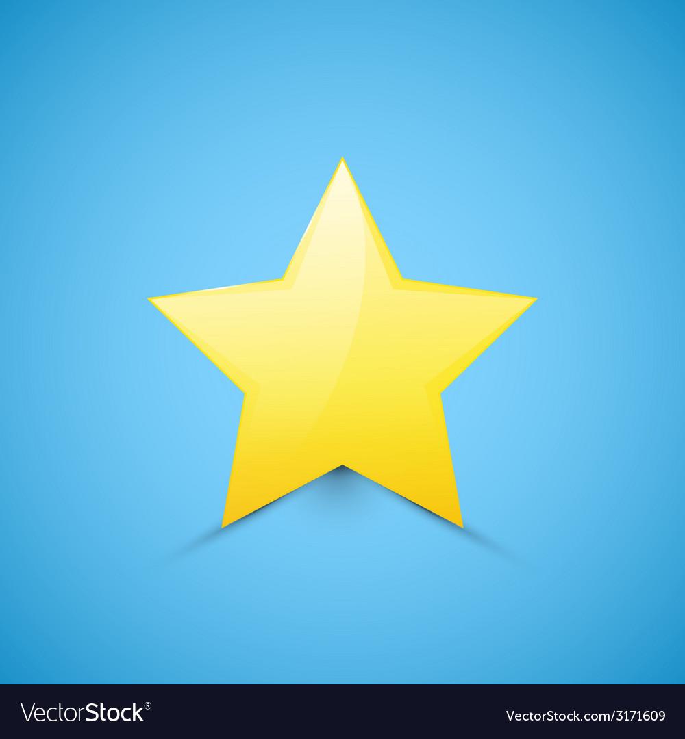 Star web icon vector | Price: 1 Credit (USD $1)