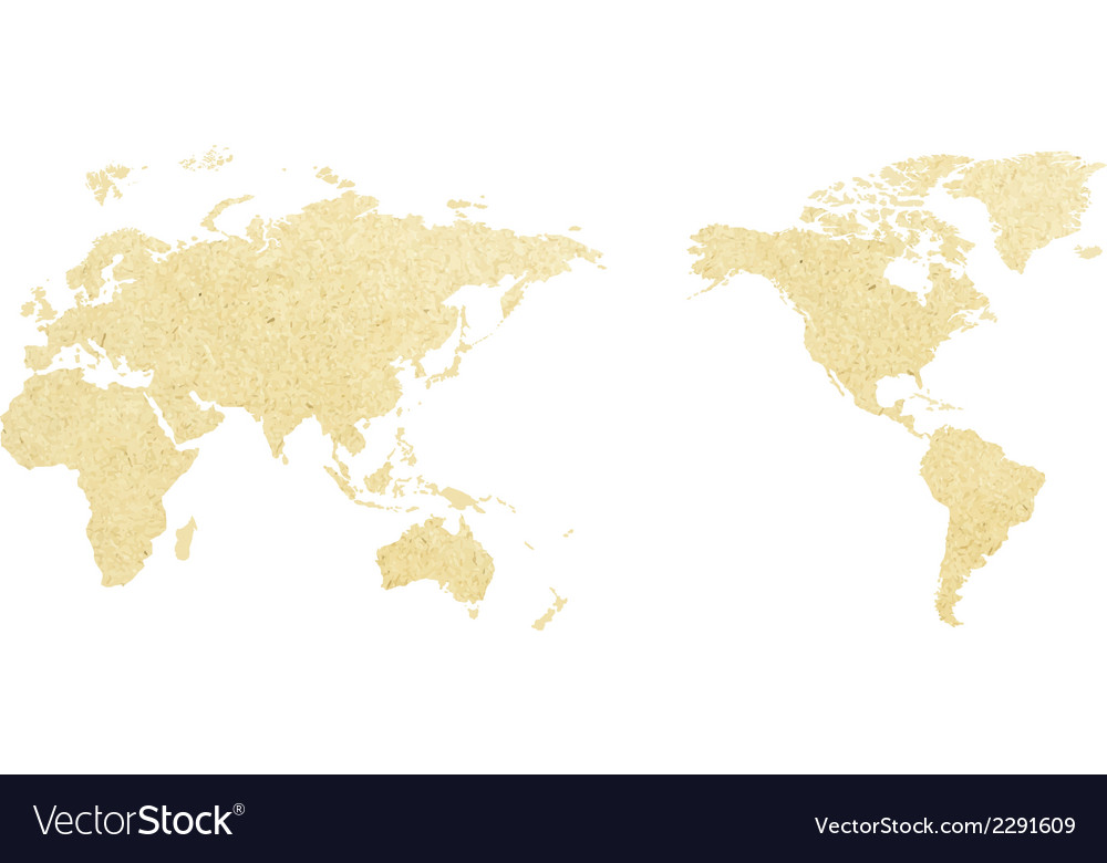 World map paper of vector | Price: 1 Credit (USD $1)