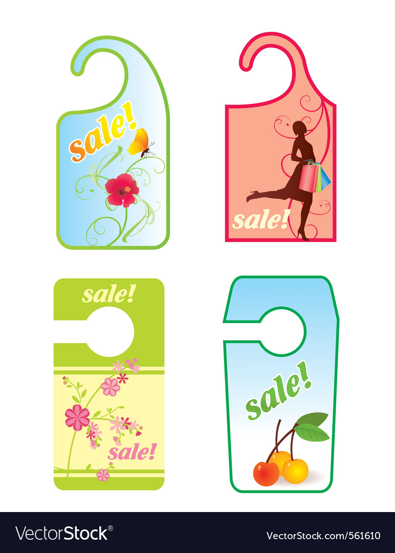 Sale spring label vector | Price: 1 Credit (USD $1)