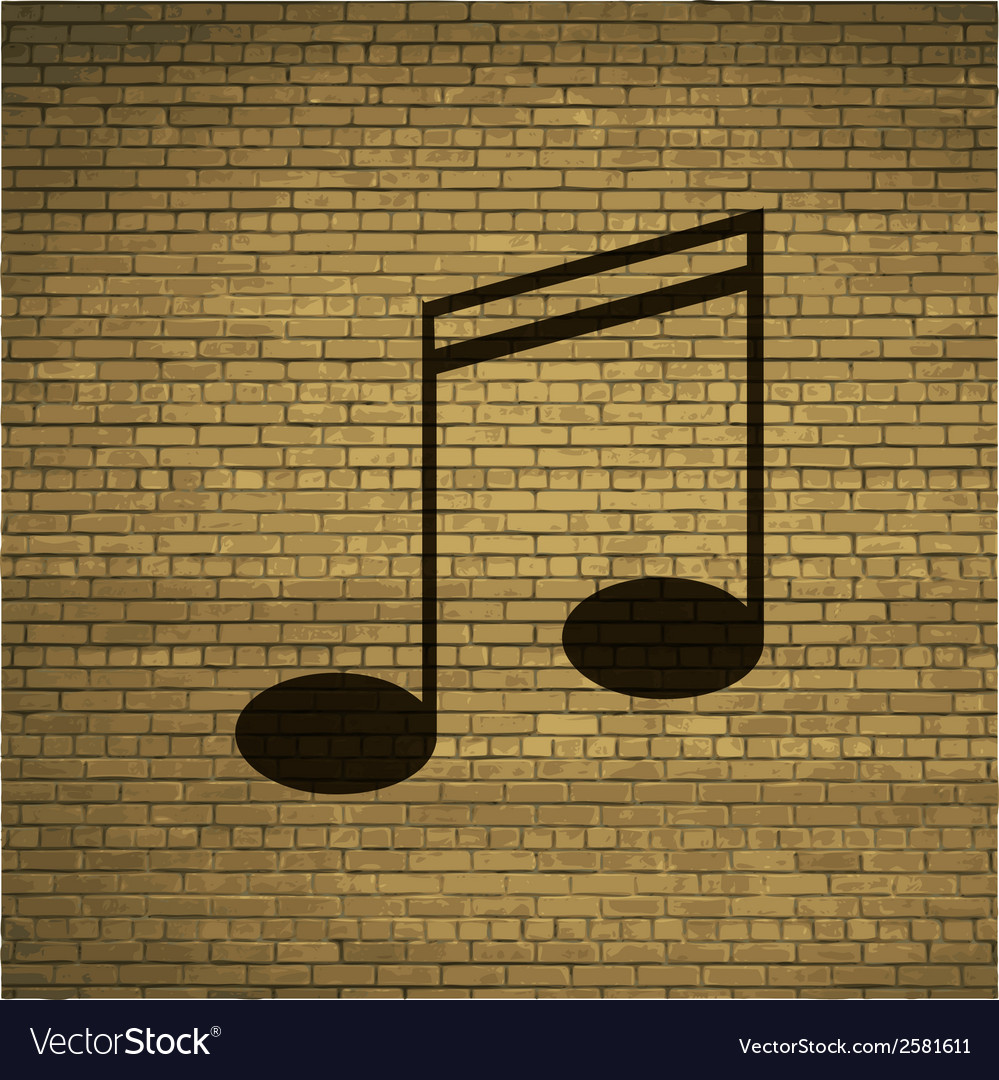 Music elements notes web icon flat design vector   Price: 1 Credit (USD $1)