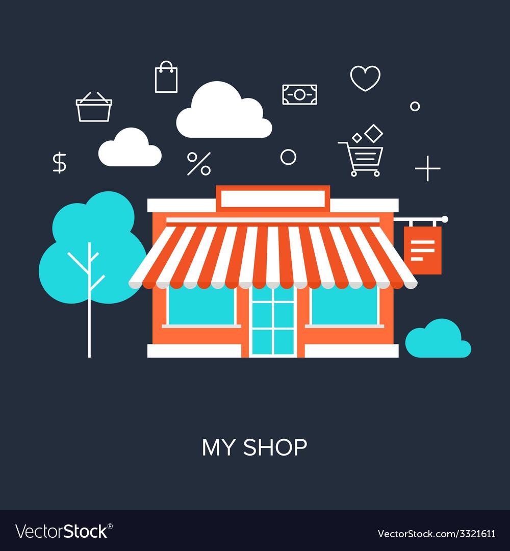 My shop vector   Price: 1 Credit (USD $1)