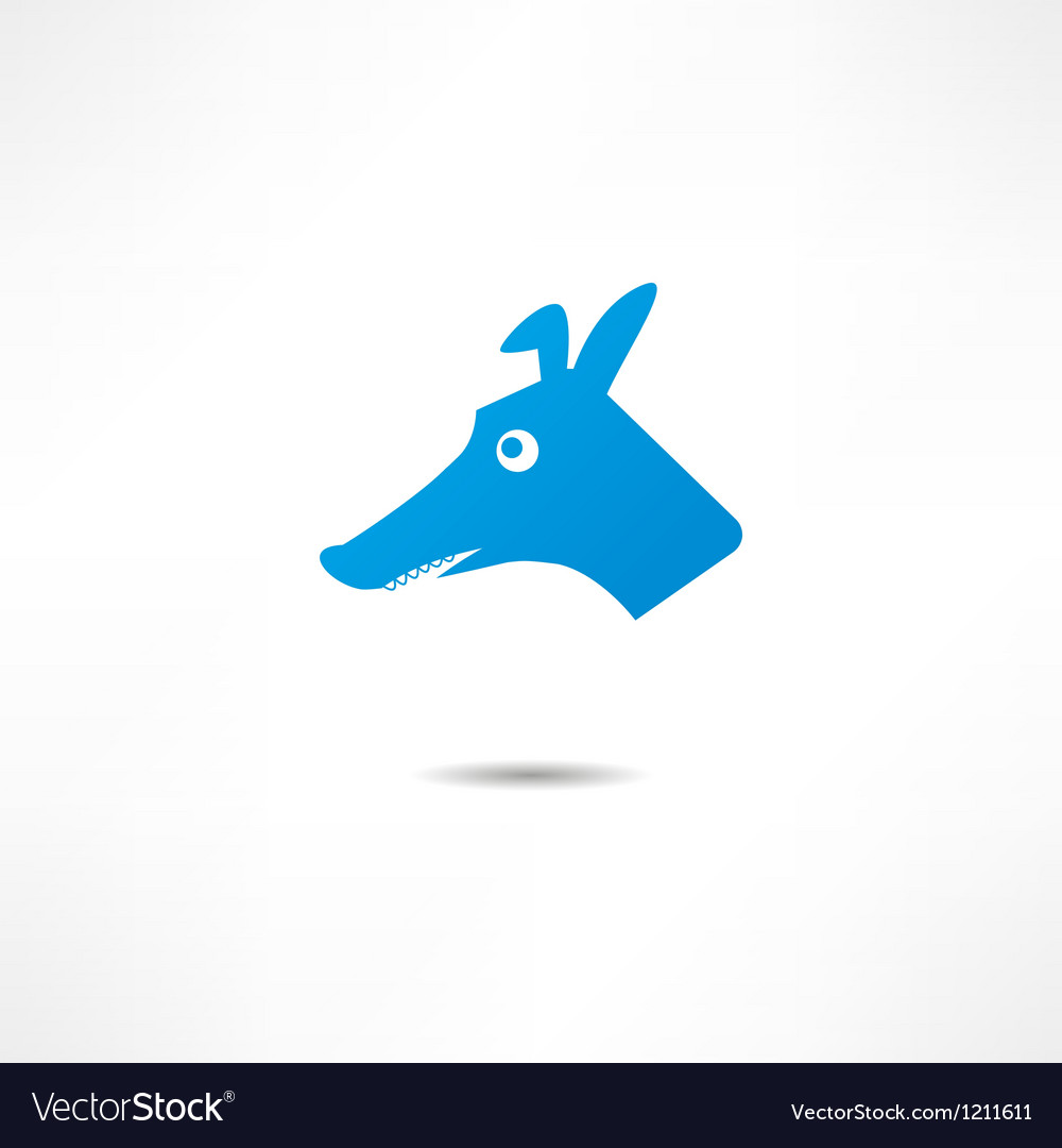 Surprised dog vector | Price: 1 Credit (USD $1)