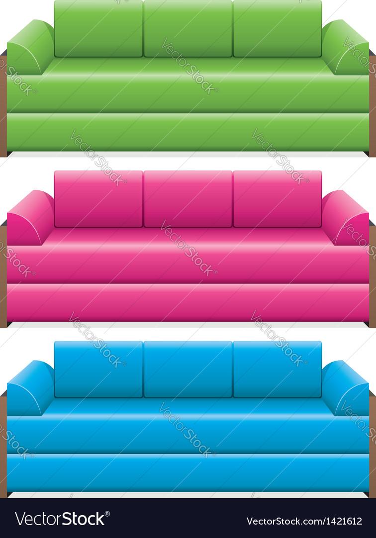 Sofas vector   Price: 1 Credit (USD $1)