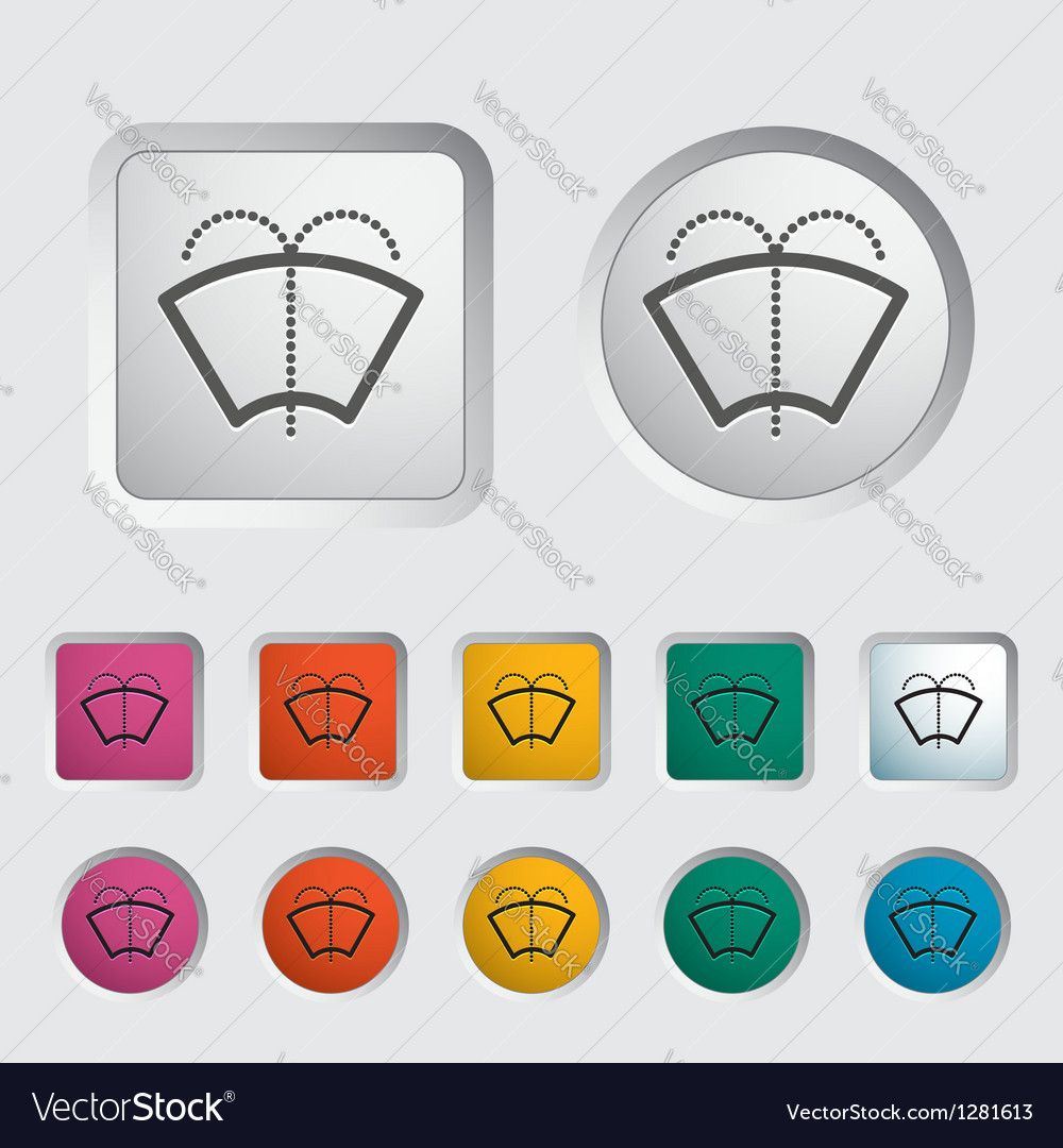 Glass washer vector | Price: 1 Credit (USD $1)