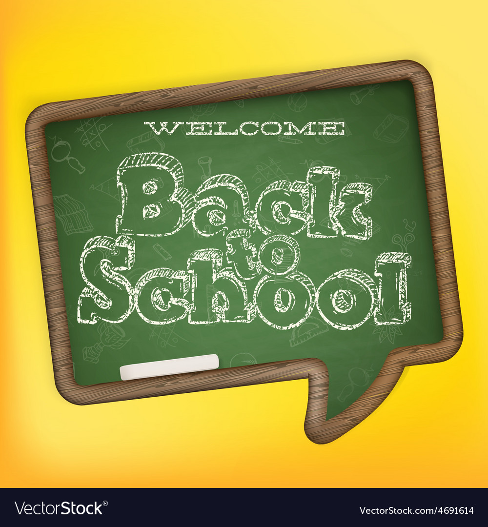 Back to school eps 10 vector | Price: 3 Credit (USD $3)