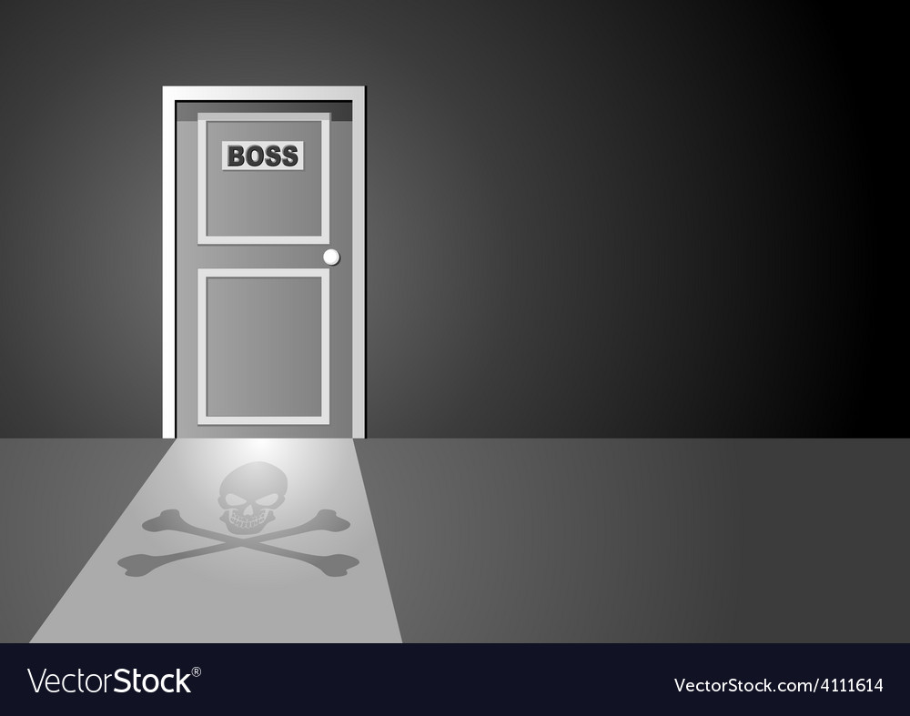 Boss door vector | Price: 1 Credit (USD $1)